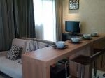 Foto Apartemen sentra timur, tower brown view city...