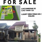 Foto House for sale in Dieng Tidar Malang IDR 850000-