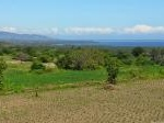 Foto Lombok Land With Ocean View And Mountain View...