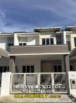 Picture Double storey intermediate house at tabuan...
