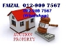 Picture 1-storey Terraced House For Sale - Bank Lelong...