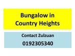 Picture Bungalow house for sale - country heights kajang