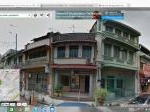 Picture Pre-War Three Storey Shop-House in Penang Street,