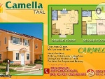 Picture House and Lot at Camella Taal Carmela Model