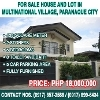 Picture For sale house and lot in multinational...