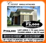 Picture Affordable house and lot CARA in Primera Sto....
