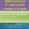 Picture 2350 ft Apartment, 3rd Floor (Top), available...