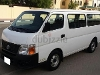 Photo Nissan van 14 seat 2012 with full agency...