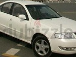 Photo Pearl White Nissan Sunny 2007