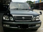 Foto Toyota Land Cruiser Cygnus 4.7 At 2003 Hitam...