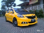 Foto New Toyota Limo Vios (tlv) Kuning Bumble Bee17