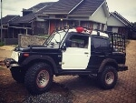 Foto SUZUKI JIMNY LONG black 4WD 1986 - SJ410 Double...