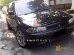 Foto Mitsubishi Lancer Evo3 th 93 warna hitam