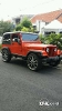 Foto Jeep Cj7 Orange Mesin Cheroke Matic