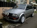 Foto Toyota starlet 1.3 SE 87 / 88 Power Stering...