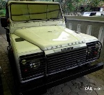 Foto Land Rover Defender Tahun 1990 Pick Up Canvas
