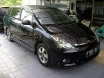 Foto TOYOTA WISH'2OO4 Black Low Millage Bayar 29...