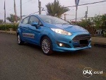 Foto Ford Fiesta Ecoboost 1.0 Turbo Manual 2014 Biru