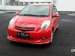 Foto Toyota Yaris S Limited At 2009 Merah Stnk 1...