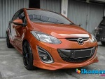 Foto Jual Mazda 2 Limited 2011 Orange Metalik