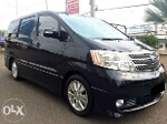 Foto Toyota Alphard CBU 2.4 G Black On Black Captain...