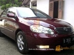 Foto Toyota Corolla Altis G th. 2001 Manual Merah...