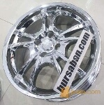 Foto Velg Chrome Ring 17 Murmer (NEW)
