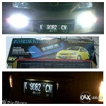 Foto Cover Plat Nomor With Led 2warna Dll