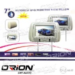 Foto Headrest Monitor Built-in Dvd Player [orion Car...
