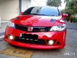 Foto Milano Red Manual Honda Civic Rr Mugen Convert...