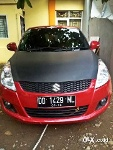 Foto Suzuki Swift Merah 2014