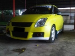 Foto JUAL Swift Turbo 2008 ST Yellow Wrapping