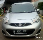 Foto Nissan March 1.2 Matic 2014-silver