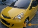 Foto Honda Jazz 2007 Vtec Kuning DP 14 Limited Edition