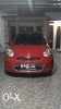 Foto Nissan March matic 2012 Merah Istimewa, Rare!
