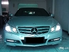 Foto Mercy E250 Cgi Coupe At 2011 Facelift Silver...