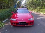 Foto Honda Estilo 92 manual full custom red ferari