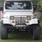 Foto Jeep cj 7 modif wrangleer