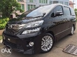 Foto Vellfire 2013 ZG Black Low Km Jok Leather...
