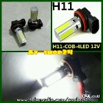 Foto Foglamp H11 Plasma Cob Super Bright
