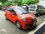 Foto Honda Brio E AutoMatic orange thn 2014