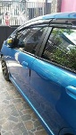 Foto Honda Jazz 2009 Blue metalic Full modifikasi