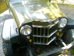 Foto 1958 willys overland pickup customized