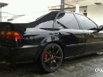 Foto Honda Civic Genio Hitam 93 Manual Modif