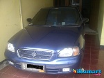 Foto Jual over kredit BALENO 2001 manual warna biru...