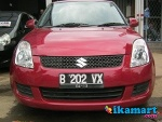 Foto Jual Suzuki swift Merah 2008 Matic
