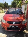 Foto Suzuki X-Over Matic Warna Orange Tahun 2007