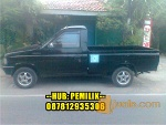 Foto Isuzu panther pick up th95, hitam, power stering