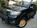 Foto Toyota new fortuner diesel 2013 manual black...