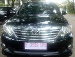 Foto Toyota grand fortuner 2.7 G. Lux at hitam 2012
